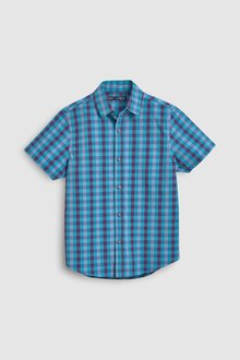 Next Short Sleeve Gingham Shirt