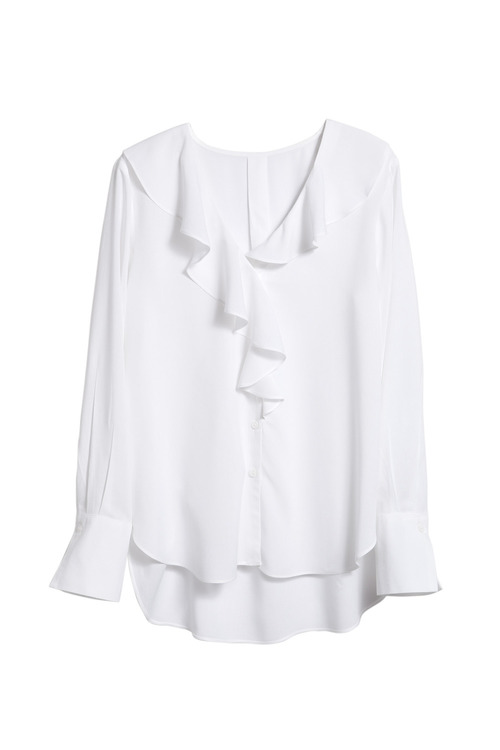 Capture Ruffle Blouse