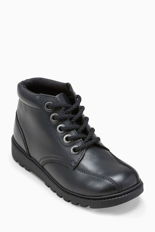 Next Lace-Up Leather Boots (Older)