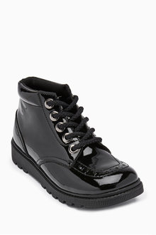 Next Leather Lace-Up Boots (Older)