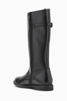 Next Leather Buckle Knee High Boots (Older)
