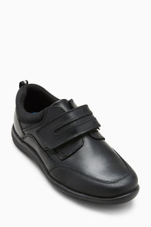 Next Single Strap Leather Shoes (Older) - Wide Fit - 212670