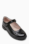 Next Leather Brogue Mary Jane Shoes (Older)