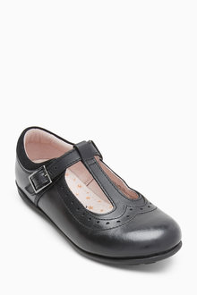 Next T-Bar Leather Shoes (Older)