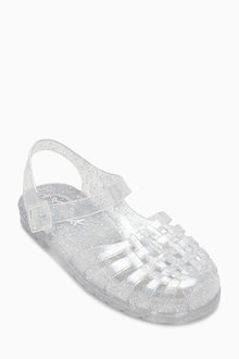 Next Glitter Jelly Shoes (Older)