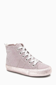 Next High Top Sparkle Trainers (Older)