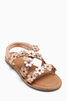 Next Leather Flower Sandals (Older)