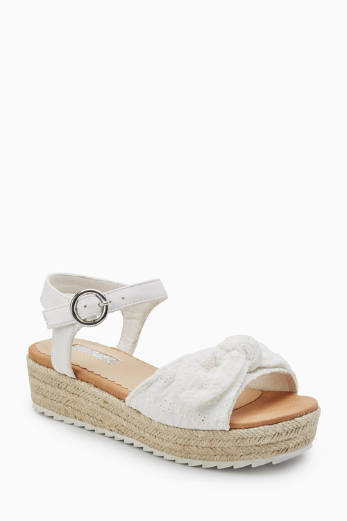 Next Bow Wedge Sandals (Older)