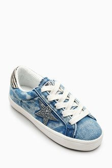 Next Star Low Top Trainers (Older)
