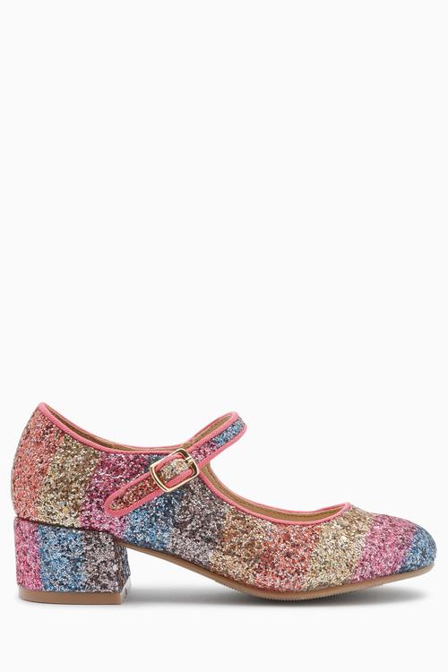 Next Glitter Heel Mary Jane Shoes (Older)