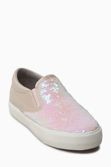 Next Sequin Skate Shoes (Older)