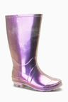 Next Iridescent Wellies (Older)