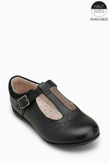 Next T-Bar Leather Shoes (Older) - Standard