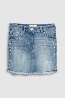 Next Denim Stud Skirt (3-16yrs)