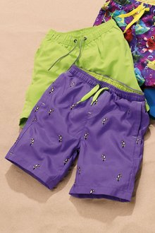 Next Embroidered Toucan Swim Shorts (3mths-16yrs)