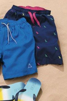 Next Embroidered Dinosaur Swim Shorts (3mths-16yrs)