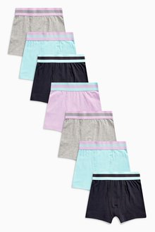 Next Pastel Trunks Seven Pack (2-16yrs)