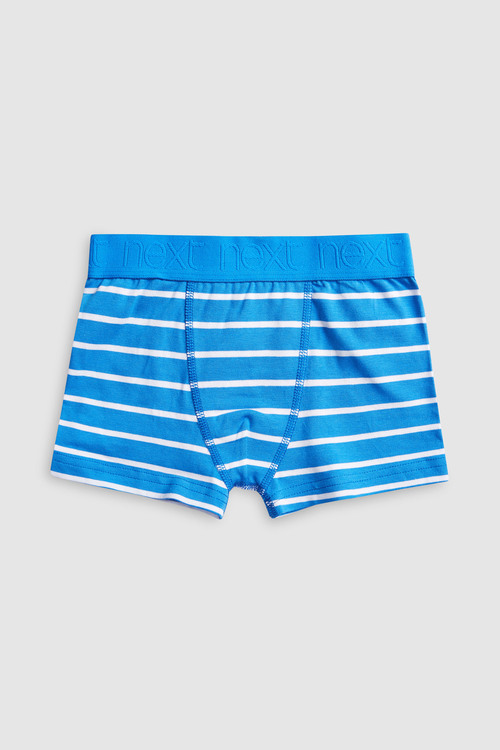 Next Blue Stripe Trunks Seven Pack (2-16yrs)