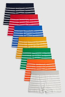 Next Multi Stripe Trunks Seven Pack (2-16yrs)