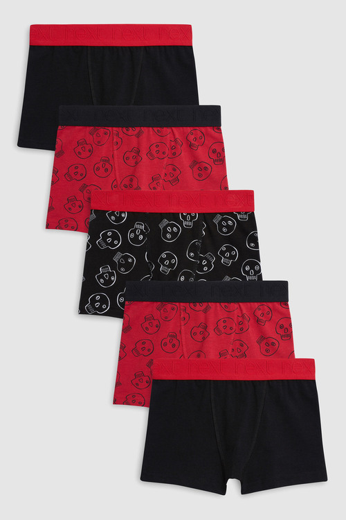 Next Skull Trunks Five Pack (2-12yrs)