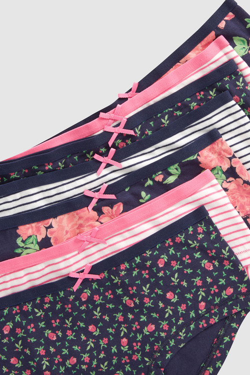Next Floral Hipsters Seven Pack (3-16yrs)