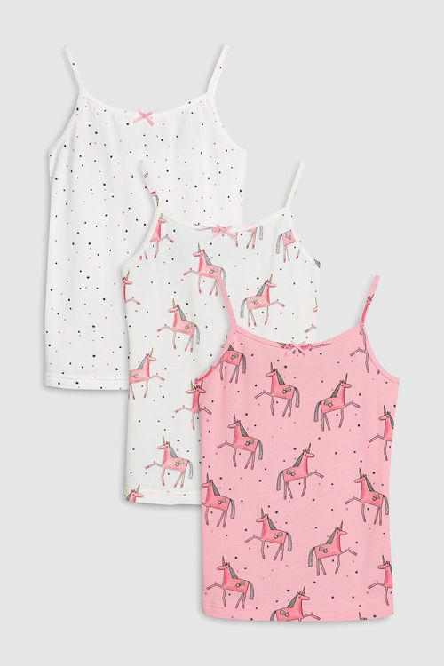 Next Unicorn Camis Three Pack (3-16yrs)