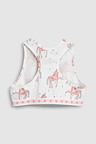 Next Unicorn Crop Tops Three Pack (Older Girls)