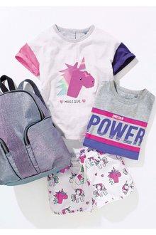 Next Flippy Unicorn T-Shirt (3-16yrs)
