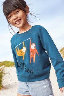 Next Sloth Sweater (3-16yrs)
