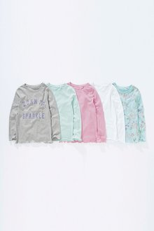 Next T-Shirts Five Pack (3-16yrs)
