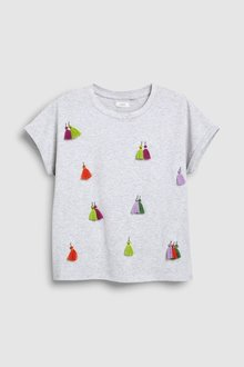 Next Tassel T-Shirt (3-16yrs)
