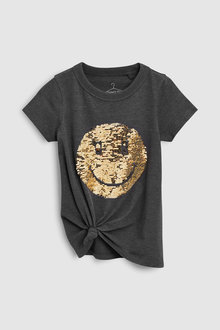 Next Flippy Sequin Short Sleeve T-Shirt (3-16yrs)