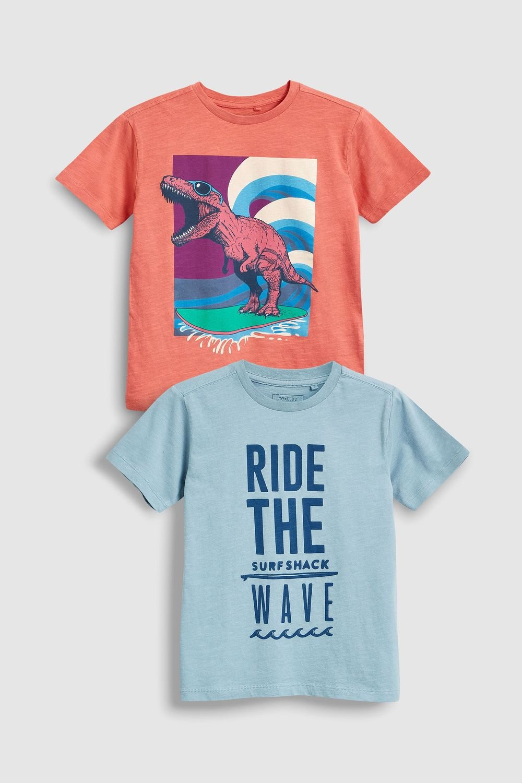 e5063a2f0 Next Graphic T-Shirts Two Pack (3-16yrs) Online | Shop EziBuy