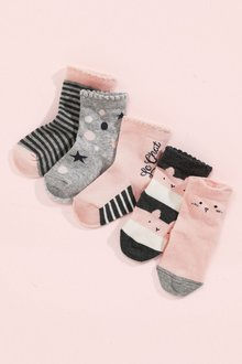Next Character Socks Five Pack (Younger)