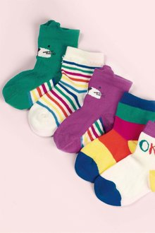 Next Rainbow Socks Five Pack (Younger)
