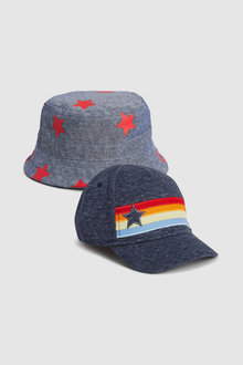 Next Cap/Fisherman's Hat Two Pack (Younger)