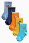 Next Embroidered Socks Five Pack (Younger Boys)