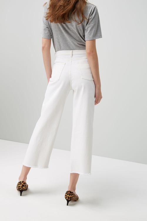 Next Wide Leg Ankle Length Jeans