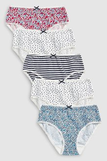Next Ditsy Briefs Five Pack (1.5-16yrs)