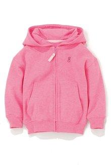 Next Pink Zip Through Hoody (3mths-6yrs)