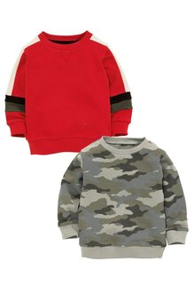 Next Colourblock Crews Two Pack (3mths-6yrs)