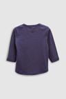 Next Long Sleeve Turtle T-Shirts Three Pack (3mths-6yrs)