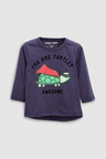 Next Long Sleeve Turtle T-Shirts Three Pack (3mths-6yrs)