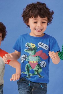 Next Super Dino T-Shirt (3mths-6yrs)