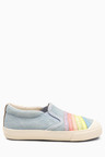 Next Rainbow Skate Shoes (Younger)