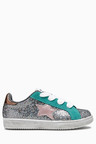 Next Lace-Up Glitter Trainers (Younger)