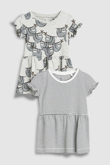 Next Sloth Tunic Two Pack (3mths-6yrs)