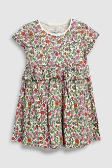 Next Short Sleeve Ditsy Tunic (3mths-6yrs)