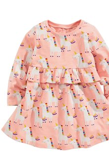 Next Unicorn Print Tunic (3mths-6yrs)