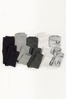 Next Monochrome Leggings Five Pack (3mths-6yrs)